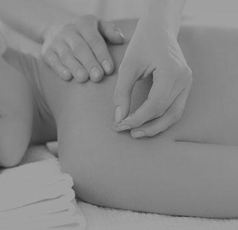 Woman Getting Massaged